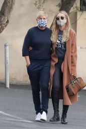Ellen DeGeneres and Portia De Rossi in Montecito 01/05/2021