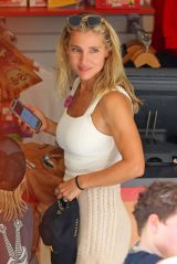 Elsa Pataky at Luna Park in Sydney 01/22/2021