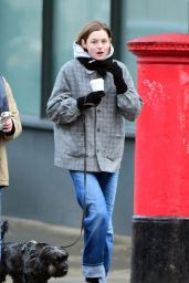 Emma Corrin - Out in London
