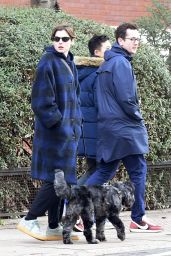 Emma Corrin - Out in North London 01/17/2021