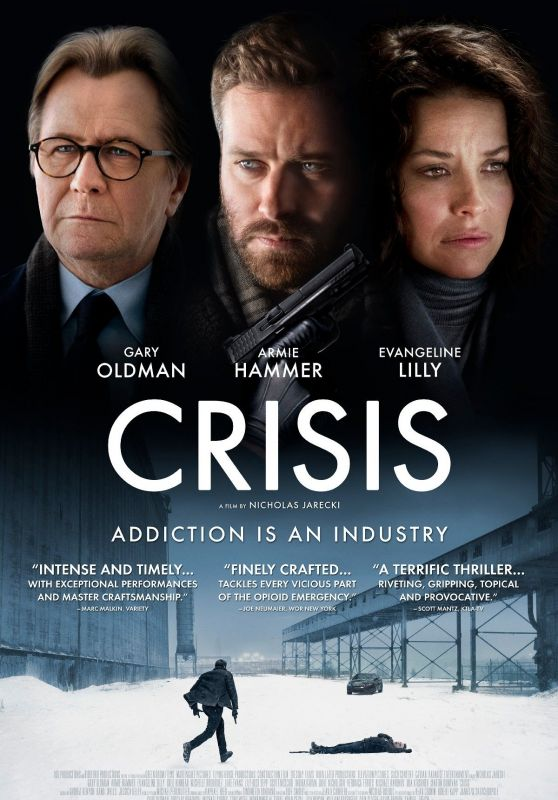 """Evangeline Lilly - """"Crisis"""" Poster 2021"""