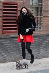 Famke Janssen - Out in Manhattan