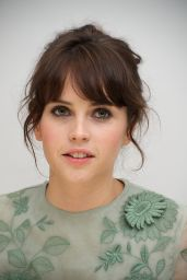 """Felicity Jones - """"Like Crazy"""" Press Conference in Beverly Hills"""