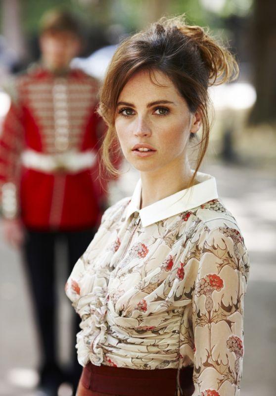 Felicity Jones - Photoshoot for Glamour UK 2010