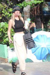Francesca Farago - Shopping at the Rolex Store in Cancun 01/10/2021
