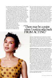Gemma Chan - ELLE UK February 2021 Issue