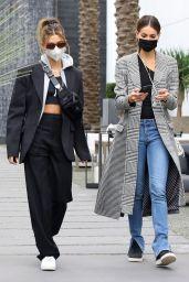 Hailey Bieber and Sara Sampaio - Shopping in West Hollywood 01/28/2021