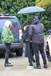 Hailey Rhode Bieber - Arriving at a Studio in LA 01/29/2021