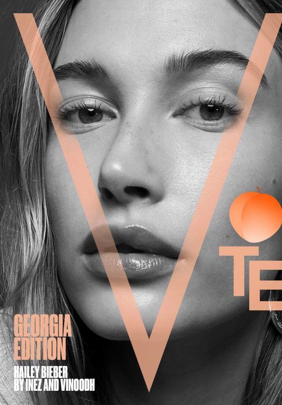 Hailey Rhode Bieber - V Magazine Georgia Edition 2021