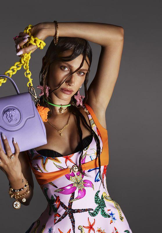 Hailey Rhode Bieber - Versace Spring Summer Campaign 2021