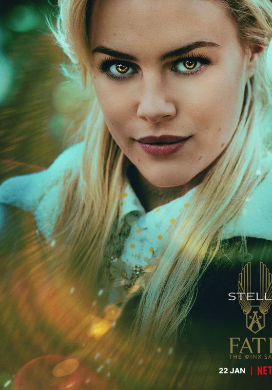 Hannah Van Der Westhuysen - Fate The Winx Saga Season 1 Promo Material 2021