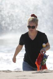 Heidi Montag on the Beach in Santa Monica 01/09/2021