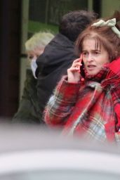 Helena Bonham Carter - Shopping in North London 01/04/2021