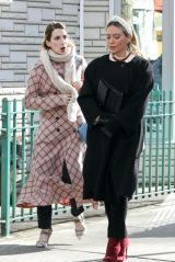 "Hilary Duff and Molly Bernard - Filming ""Younger"" in Manhattan 01/20/2021"