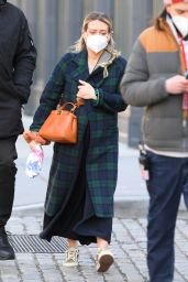 Hilary Duff - Out in Brooklyn 01/28/2021