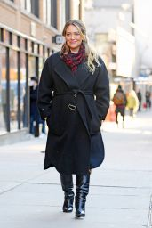 """Hilary Duff - """"Younger"""" Set in NYC 01/28/2021"""