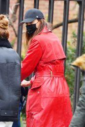 Irina Shayk - Out in NYC 01/27/2021