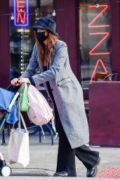 Irina Shayk Street Style - New York 01/20/2021
