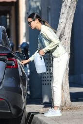 Jamie Chung - Shops For Groceries at Whole Foods in West Hollywood 01/20/2021