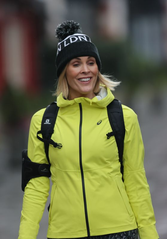 Jenni Falconer - Out in London 01/12/2021