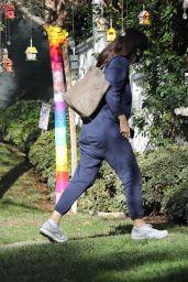 Jennifer Garner - Checking Her New Property in Brentwood 01/07/2021