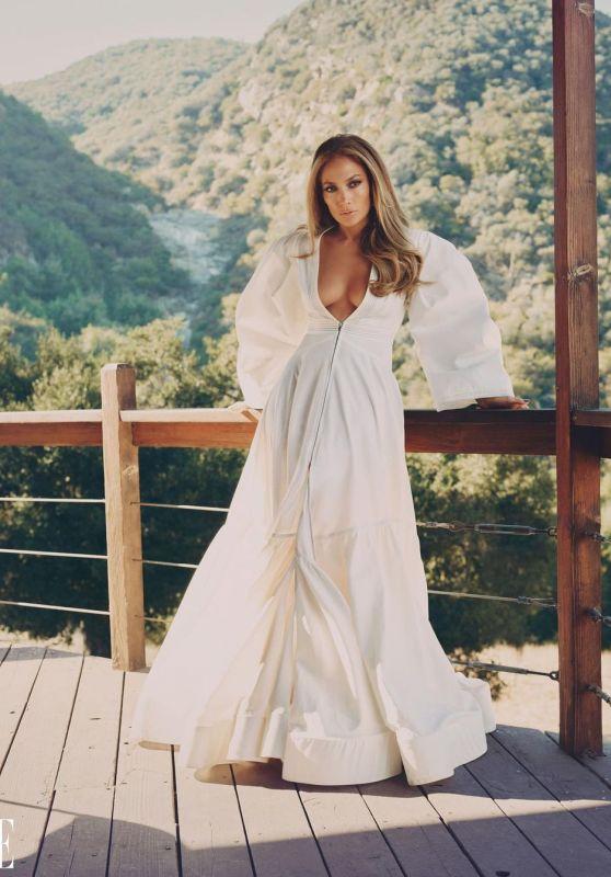 Jennifer Lopez - ELLE February 2021