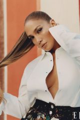 Jennifer Lopez - ELLE Magazine February 2021