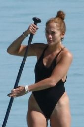 Jennifer Lopez in a Swimsuit - Turks and Caicos 01/06/2021