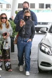 Jennifer Lopez in Casual Outfit - Miami 01/17/2021