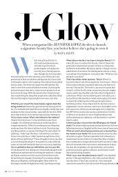 Jennifer Lopez - InStyle Magazine February 2021 Issue