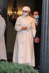Jennifer Lopez - Leaves Her Hotel in Washington DC 01/20/2021