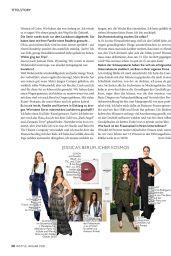 Jessica Alba - InStyle Magazine Germany January 2021 Issue