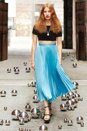 Jessica Chastain - SHAPE Magazine January 2021