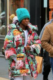 Jodie Turner-Smith - Out in Soho, New York 01/16/2021