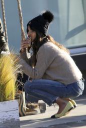Jordana Brewster - Out in Brentwood 01/11/2021