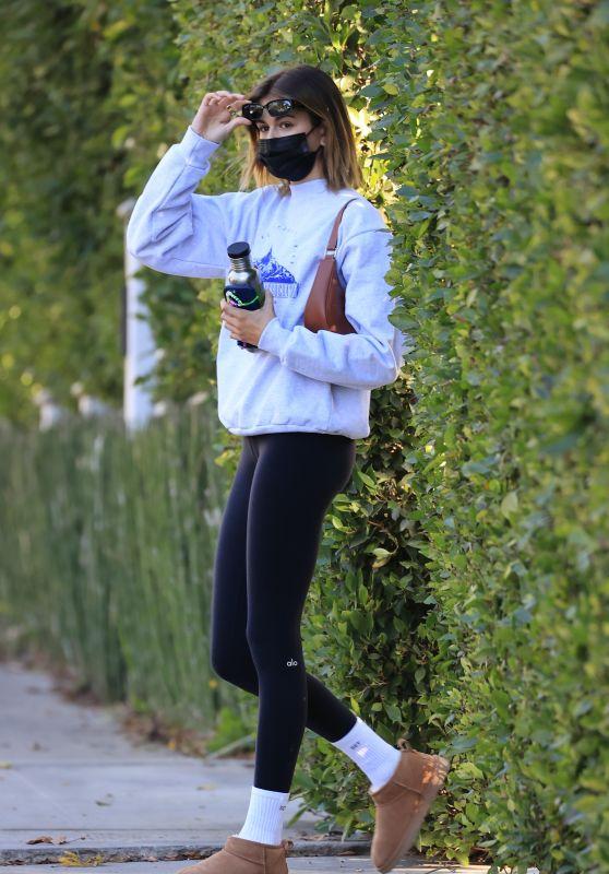 Kaia Gerber in Workout Gear - LA 01/26/2021