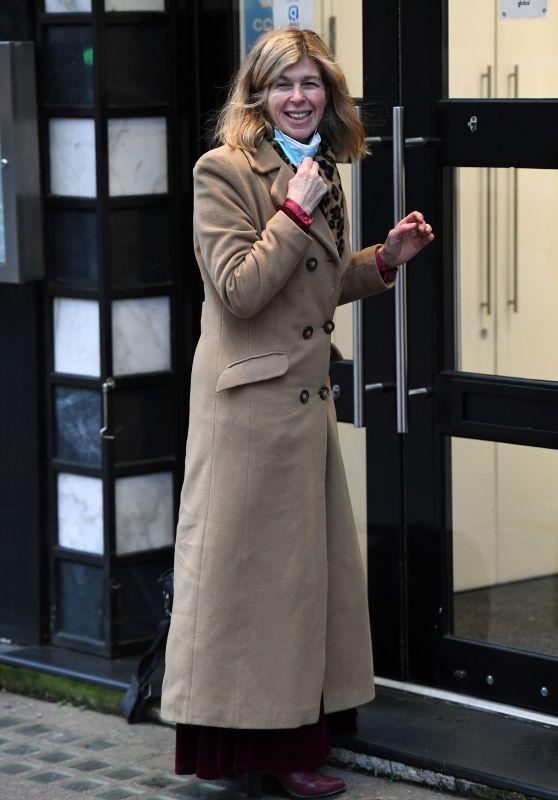 Kate Garraway at Global Radio in London 01/04/2021