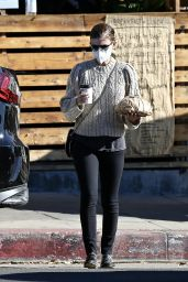 Kate Mara in Casual Outfit in Los Feliz 12/31/2020