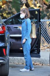 Kate Mara in Griffith Park in Los Feliz 01/20/2021