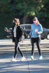 Katherine Schwarzenegger and Christina Schwarzenegger - Santa Monica 01/11/2021