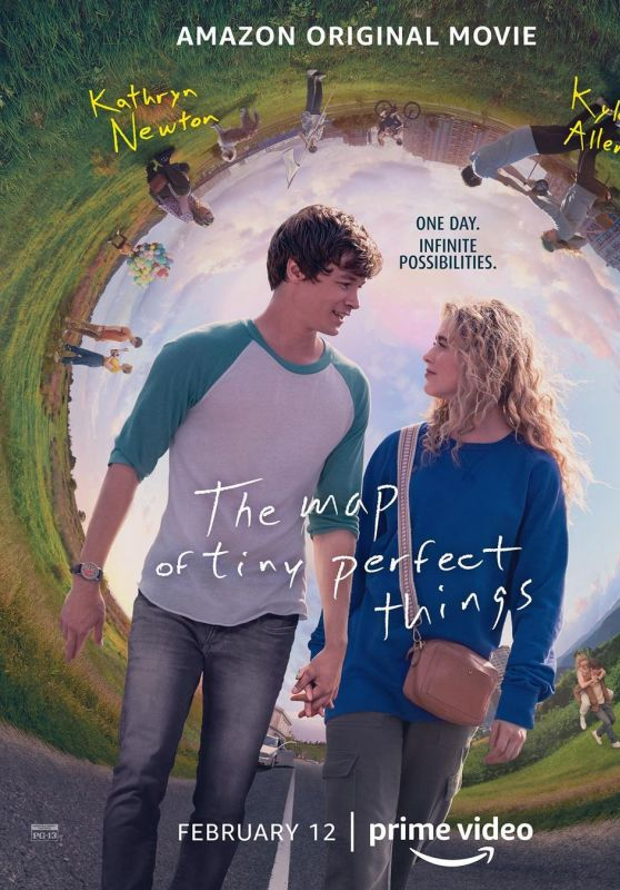 """Kathryn Newton - """"The Map of Tiny Perfect Things"""" Poster (2021)"""