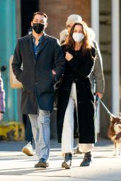Katie Holmes and Emilio Vitolo Jr - New York 01/10/2021