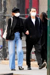 Katie Holmes and Emilio Vitolo Jr - Out in SoHo, NY 01/04/2021