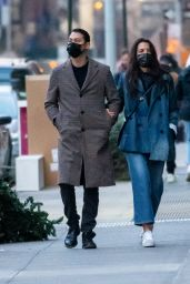 Katie Holmes - Out in NYC 01/12/2021
