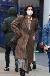 Katie Holmes - Out on New Year