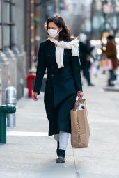 Katie Holmes - Shopping at Macy