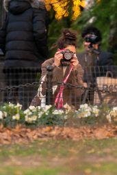 Katie Holmes - Washington Square Park in NY 02/01/2021