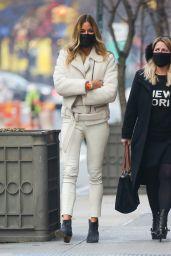 Kelly Bensimon in All White - New York City 01/14/2021