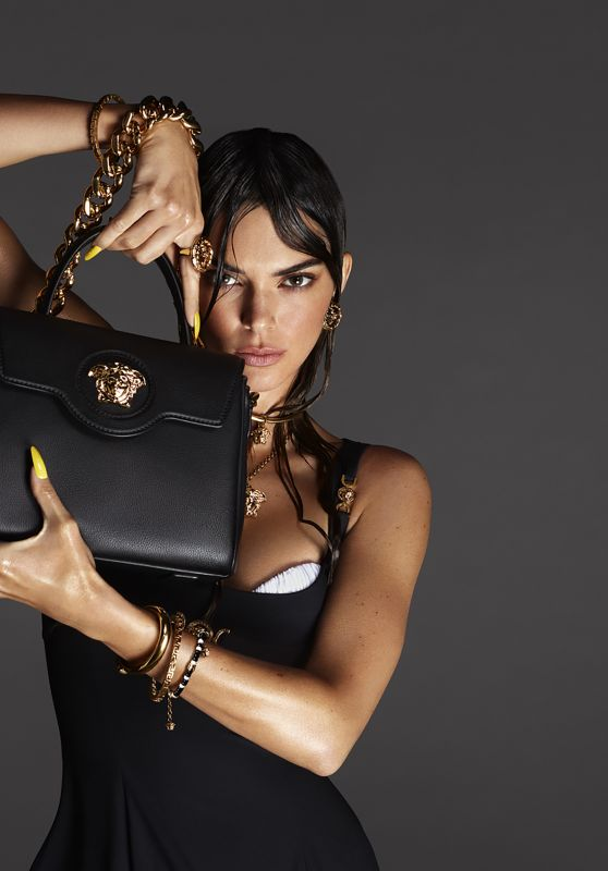Kendall Jenner – Versace Spring Summer Campaign 2021
