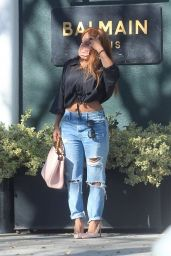 Keyshia Cole - Shopping in Beverly Hills 01/16/2021